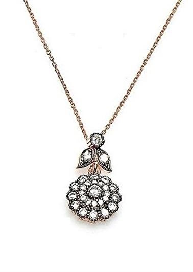 Söğütlü Silver Kolye Pembe